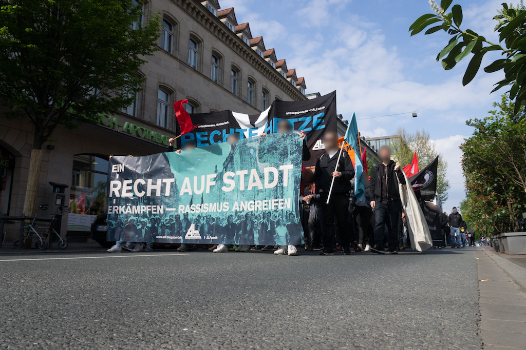 Warm-up Demo zum 1. Mai 2017